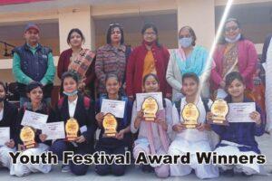 Youth Festival Award Winners